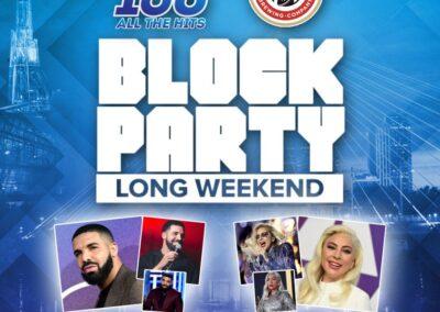 Block Party Long Weekend